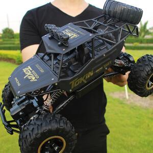 Carro de controle remoto, com controle por rádio 2.4G 1:12 4WD | R$ 138