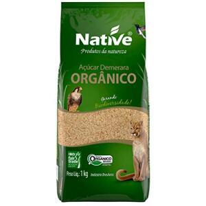 Açúcar Demerara Orgânico Native 1kg | R$ 5