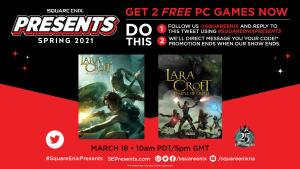 [GRÁTIS] 2 jogos Lara Croft