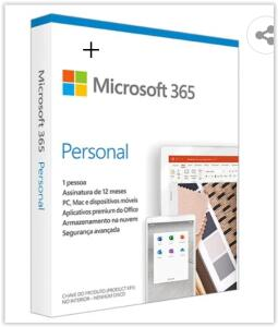 Microsoft 365 Personal Assinatura Anual para 1 Usuário PC, Mac, iOS e Android | R$ 60