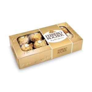 Caixa Ferrero Rocher 8 Unidades 100g   R$8