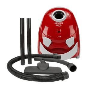 Aspirador de Pó Mondial AP-12 Preto e Vermelho 110V | R$170