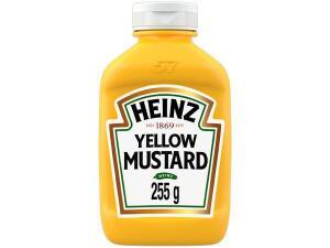 [APP +OURO +Magalupay =R$1.93]Mostarda Amarela Tradicional Heinz 255g | R$ 1.93
