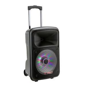 Caixa de Som Amplificada TRC 536 Bluetooth, Rádio FM, Entrada USB 480W | R$555