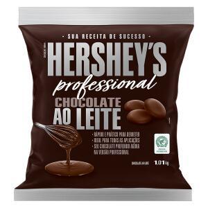 Chocolate ao Leite em Moedas Hershey's Professional Pacote 1,01kg | R$25