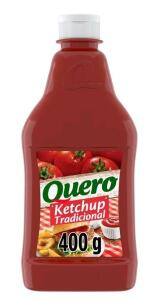 [C. OURO + M. PAY] Ketchup Tradicional Quero 400g | R$1,51