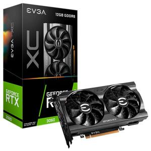 Placa de Vídeo EVGA GeForce RTX 3060 XC GAMING, 12GB GDDR6, DualFan, Metal Backplate, | R$ 4799