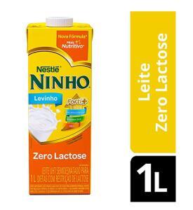 [PRIME] Leite Semidesnatado Ninho Zero Lactose 1L (min.3) | R$3,60