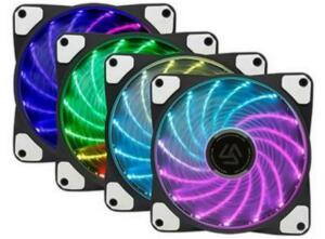 Cooler FAN Alseye SOONCOOL RAINBOW RGB, 120mm - SC-120-RR R$37