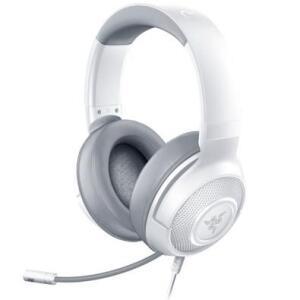 [A VISTA] Headset Gamer Razer Kraken X, P2, Drivers 40mm, Mercury White - RZ04-02890300-R3U1 | R$ 300