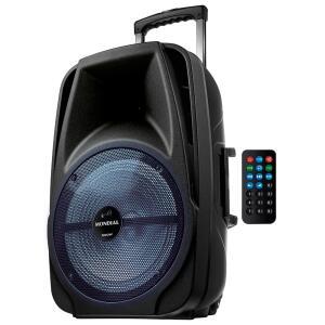 Caixa de Som Amplificada Mondial Connect Pro CM-500 Bluetooth, Rádio FM, USB - 500W - R$473