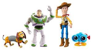 Toy Story Baú de Brinquedos do Andy, Conjunto de 4 Figuras de Ação - R$110