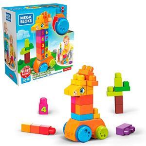 Girafa Conta e Brinca, 30 peças, Mega Bloks, Mattel | R$70