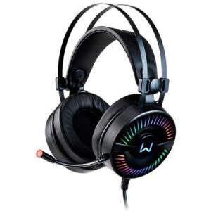 Headset Gamer Warrior Flamma, RGB, Drivers 50mm - PH306 | R$189