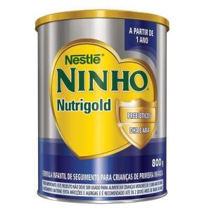 Fórmula Infantil Ninho Nutrigold 800g | 4 unid | R$ 23 cada