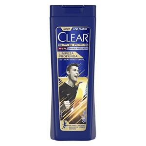 [Prime] Shampoo Anticaspa Clear Sports Men Limpeza Profunda 400ml | R$15