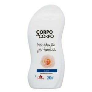 Loção Desodorante Suave Corpo a Corpo 200ml - Davene | R$1,68