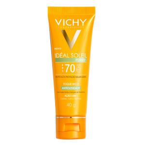 Protetor Solar Vichy - Idéal Soleil Purify FPS 70 - 40g - R$51,24