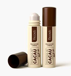 [Prime] Protetor Labial com Manteiga de Cacau Roll-on, Ricosti - R$3,89