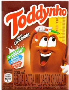 [C. Ouro] Toddynho Chocolate 200ml | Bebida Láctea | R$1,07
