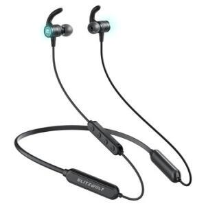 Fone de Ouvido BlitzWolf® BW-FLB1 Bluetooth 5.0 IPX5 | R$105
