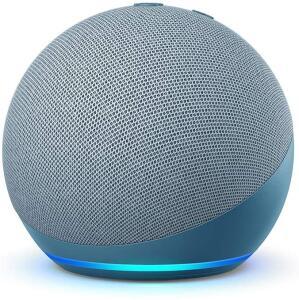 Echo Dot - 4ª Geração: Smart Speaker com Alexa - Cor Azul R$332