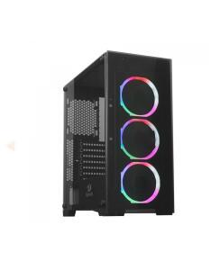 Gabinete Gamer Redragon Mixmaster, Mid Tower, Vidro Temperado, Black, ATX   R$340
