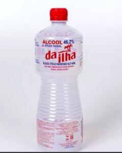Álcool líquido da Ilha Tradicional - 46°INPM   R$1,99