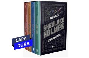 [App] Livro - Box Sherlock Holmes | R$58