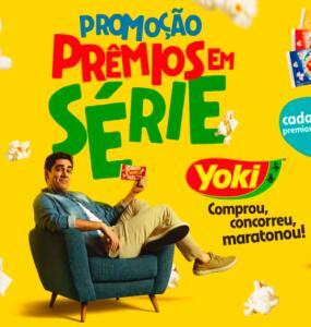 Compre Pipoca Yoki e concorra a TVs 4K de 65' e outros prêmios
