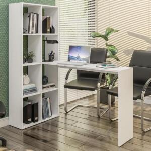 CLIENTE OURO | Escrivaninha com Estante Lateral | R$202