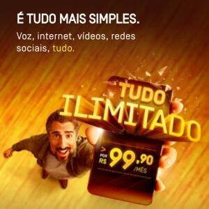 [Oi Controle] Internet e ligações Ilimitadas por R$99,90