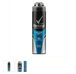 9 un Desodorante Rexona Aerosol Antitranspirante Men Active Dry 150ml - R$7/un