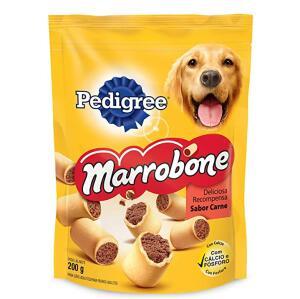 Biscoito Para Cachorros Pedigree Marrobone Carne Adultos 200g ( Min.2)   R$6