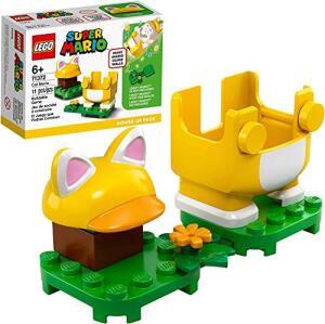 [Prime] Lego Super Mario Pack Power-Up - Mario Gato 71372 | R$ 43