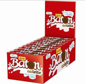 [PIX] Chocolate Baton ao Leite - 30und   R$20.31