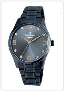 Relógio Feminino Analógico Champion CN25663A Elegance – Azul | R$ 173