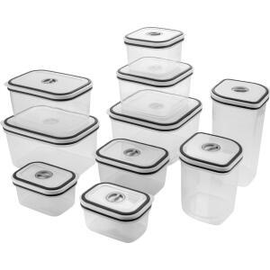 [APP/AME R$ 72] Conjunto de Potes Herméticos com Tampa 10 Peças - Electrolux R$ 81