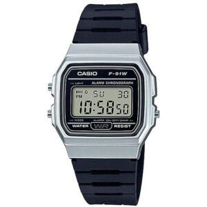 Relógio Masculino Casio Digital F-91WM-7ADF - Prata | R$121