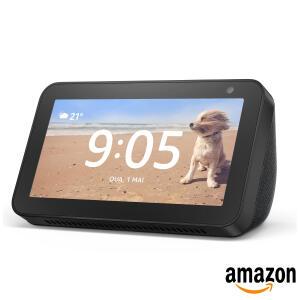 "ECHO SHOW 5 Smart Speaker Amazon com Tela 5.5"" e Alexa R$400"