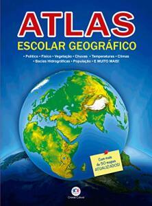 Atlas escolar geográfico Capa comum R$1,77