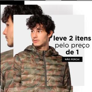 Moda Masculina | Leve 2 itens pelo preço de 1