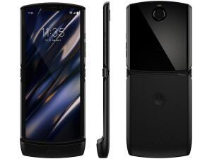 "[APP   Cliente Ouro] Smartphone Motorola Razr 128GB Black 4G - Snapdragon 710 6GB RAM 6,2""   R$2790"