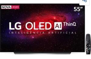 """Smart TV OLED 55"""" UHD 4K LG R$5224"""