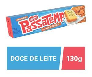 [PRIME] [08 unidades] Biscoito Passatempo Doce de Leite - 130g   R$9