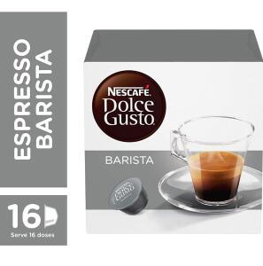 [Leve 4 pague 3 + recorrência] Nescafe Dolce Gusto, Espresso Barista, 16 Cápsulas | R$16