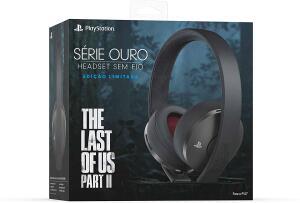 Headset sem Fio - Série Ouro - Edição Limitada The Last of Us Part II R$560