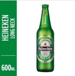[Retirada BH] Cerveja Heineken Premium Pilsen Lager 600ml | R$6,40