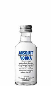 [App+cliente ouro+Magalupay] Vodka Absolut 50mL | R$3,40