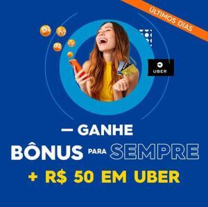 Dotz: Ganhe bônus + R$50 no Uber